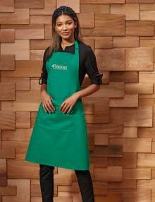 PR154 Bib Apron with Pocket by Premier