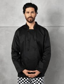 Black Cuisine Jacket