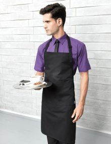 Black Fair Trade Bib Apron