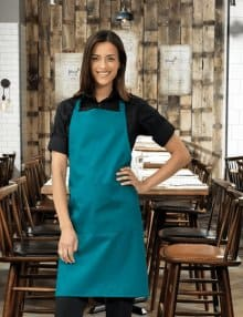 PR154 Bib Apron with Pocket