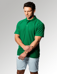 Uneek Kelly Green Polo Shirt