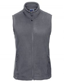 Grey Ladies Fleece Gilet