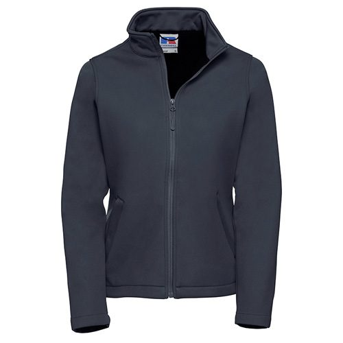 Ladies Navy Softshell Jacket