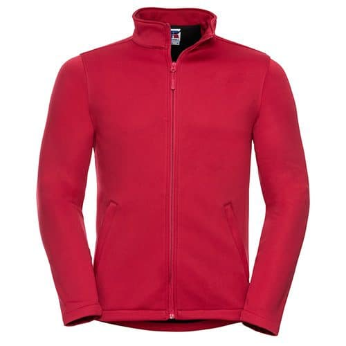 Classic Red Soft Shell Jacket
