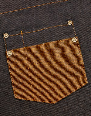 Pocket Detail with studs