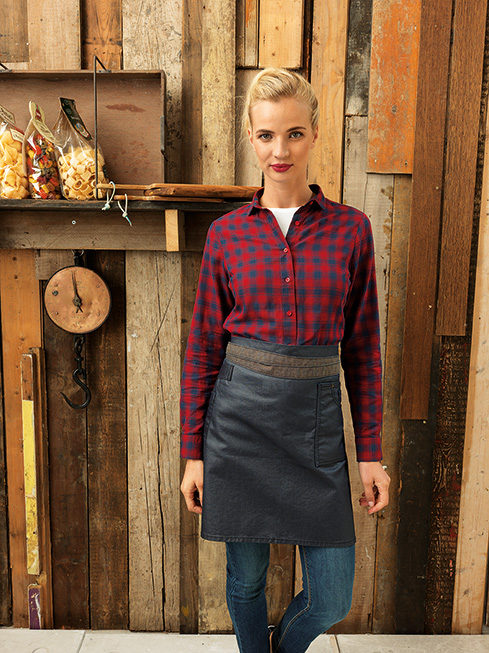 Waxed Denim Waist Apron