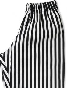 Stripe teflon coated chef trouser zoom