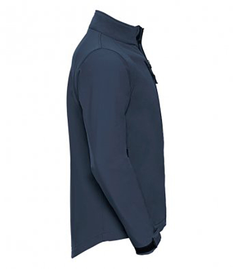 Russell Softshell Jacket Side Navy 140M