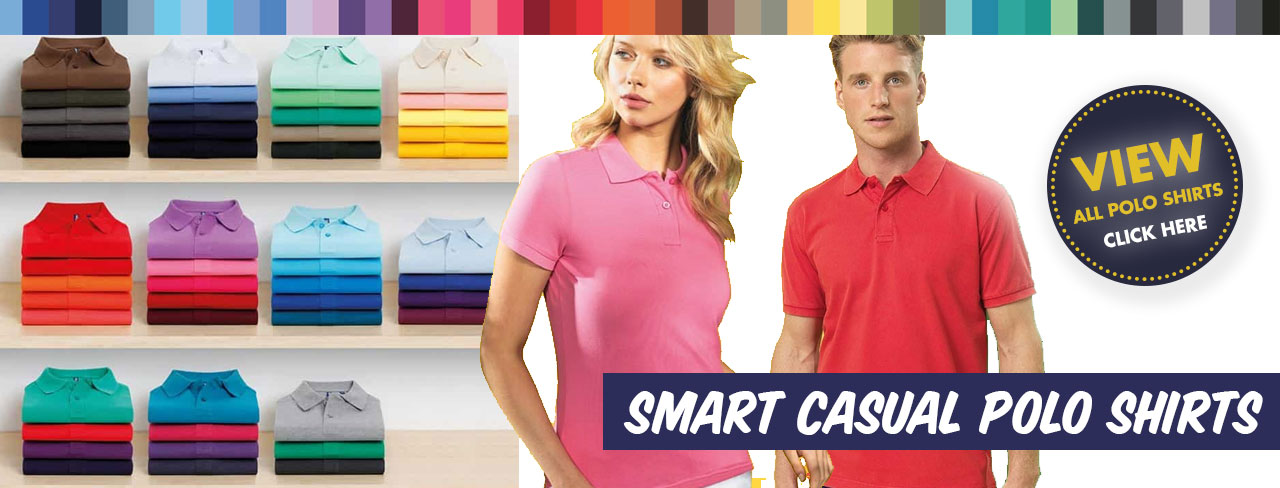 Smart Coloured Polo Shirts